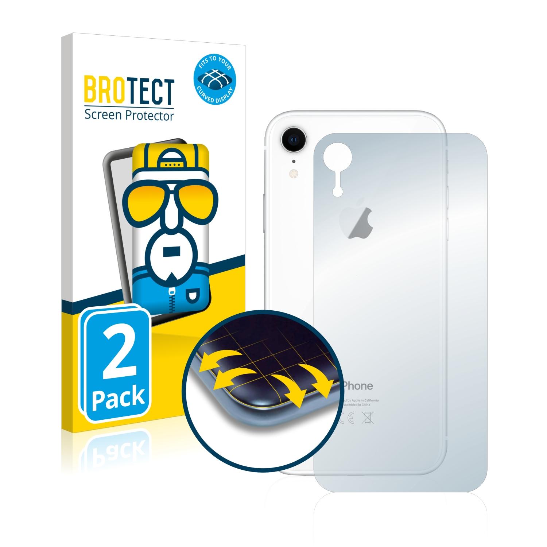 Ochranná fólie BROTECT Flex Full-Cover pro Apple iPhone XR (Zadní strana), 2ks