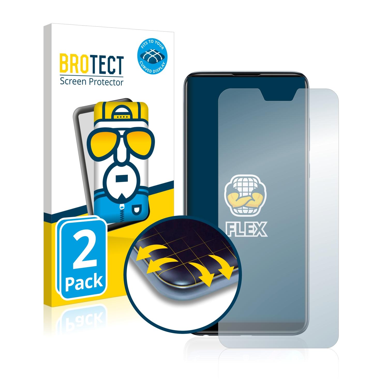 Ochranná fólie BROTECT Flex Full-Cover pro Asus ZenFone Max (M2) ZB631KL, 2ks