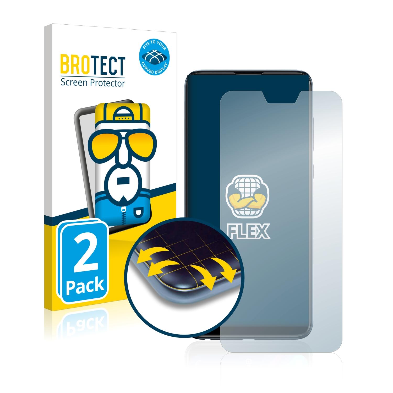 Ochranná fólie BROTECT Flex Full-Cover pro Asus ZenFone Max Pro (M2) ZB631KL, 2ks