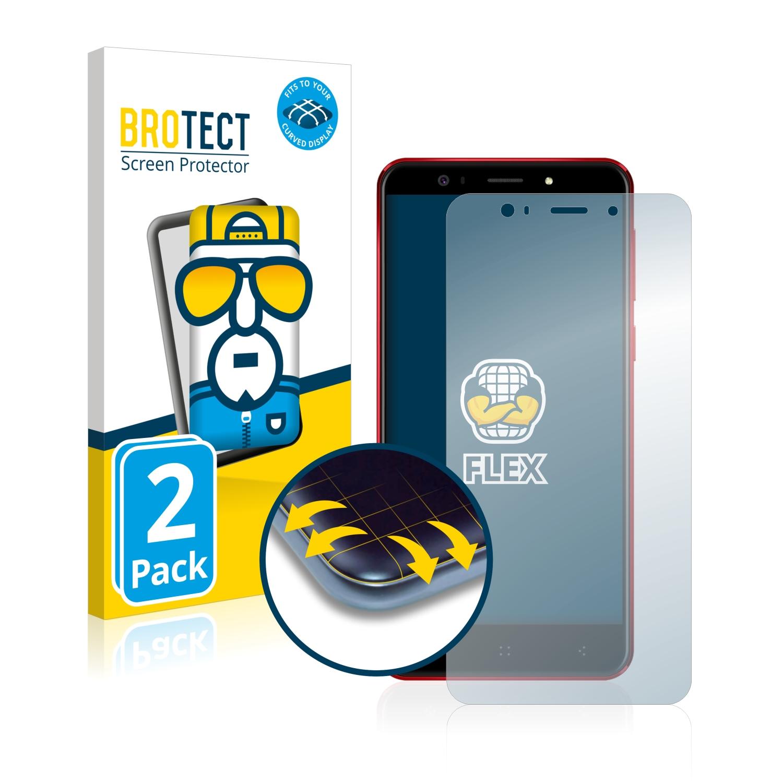 Ochranná fólie BROTECT Flex Full-Cover pro Elephone P8 3D, 2ks
