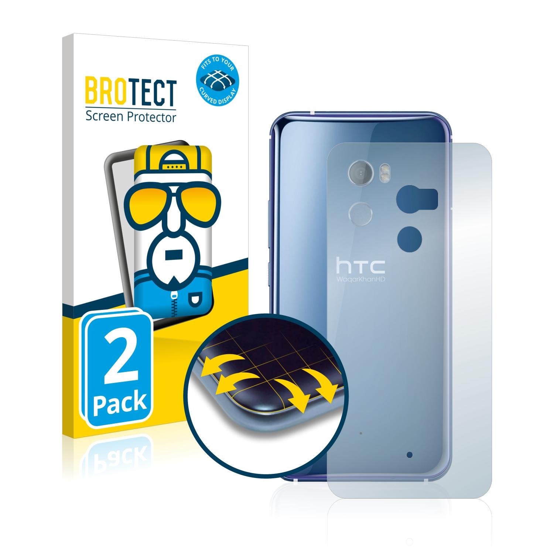 Ochranná fólie BROTECT Flex Full-Cover pro HTC U11 (Zadní strana), 2ks
