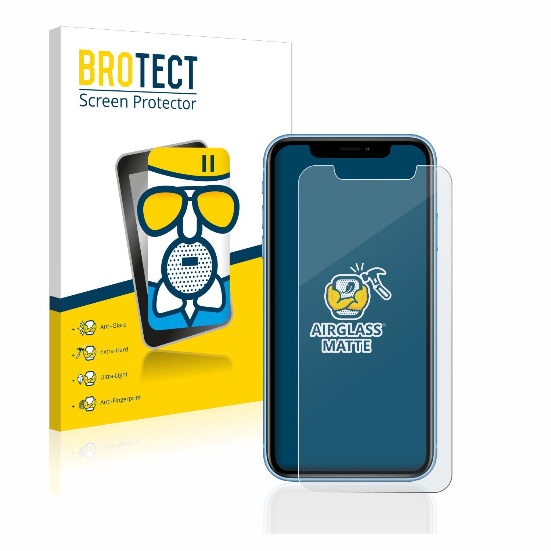Airglass matné ochranné sklo pro Apple iPhone XR
