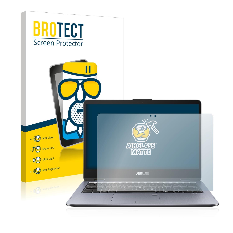 Airglass matné ochranné sklo pro Asus VivoBook Flip 14 TP410UA