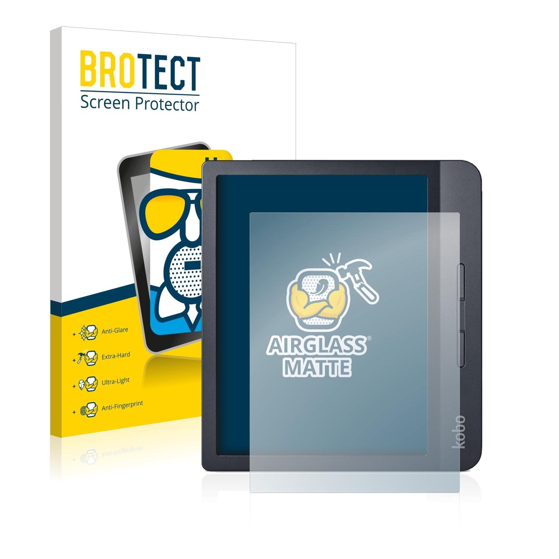 2x BROTECT Pellicola Protettiva per Kobo Aura H2O Edition 2 Proteggi Schermo