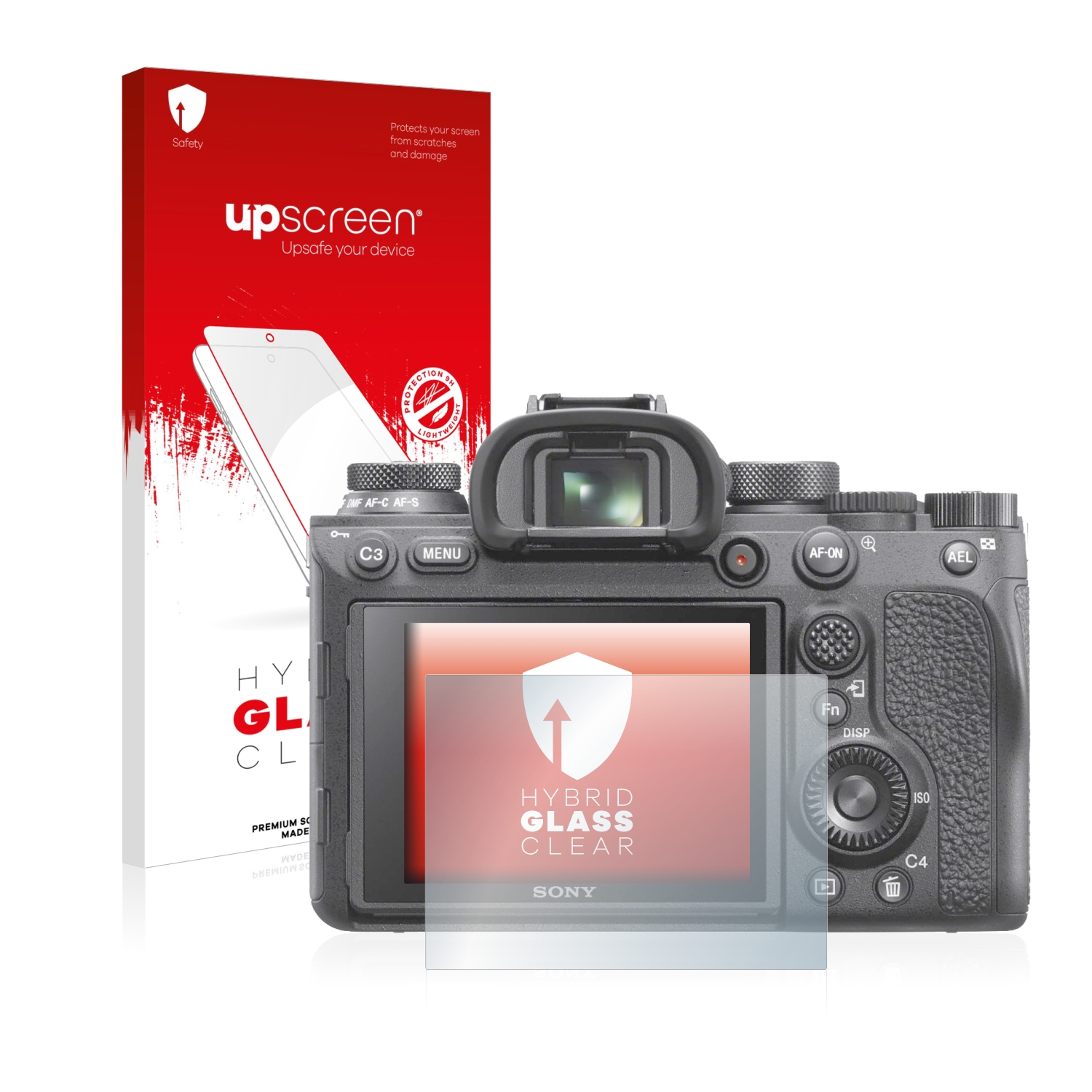 9H Glass Protector brotect Glass Screen Protector compatible with Sony Alpha 7K AirGlass ILCE-7K